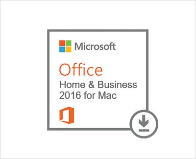 Office 2016 Home and Business (MAC Version)
